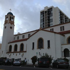 Photo taken at Saint Joseph Cathedral by Rick B. on 12/25/2012