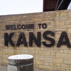 Photo taken at Kansas Travel Information Center by Domo on 12/23/2013