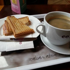 Photo taken at Costa Coffee by Lucas B. on 6/10/2013