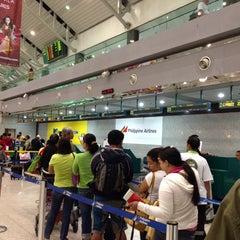 Photo taken at Francisco Bangoy International Airport (DVO) by Reynold L. on 7/19/2013