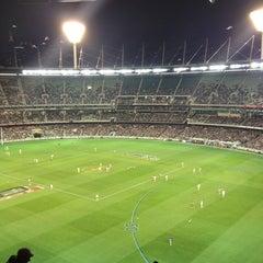 Photo taken at Melbourne Cricket Ground (MCG) by Keith O. on 5/18/2013