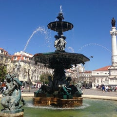 Photo taken at Rossio by Svyatoslav A. on 5/4/2013