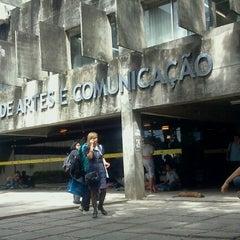 Photo taken at CAC - Centro de Artes e Comunicação by Caio O. on 7/24/2013
