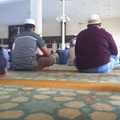 Photo taken at Masjid Kuarters KLIA by Carrol N. on 11/2/2012