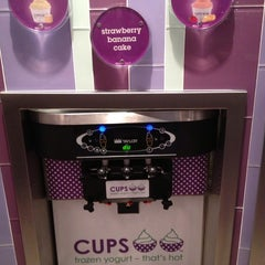 Photo taken at CUPS Frozen Yogurt by Faisal O. on 5/15/2013