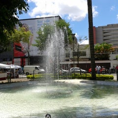 Photo taken at Largo do Riachuelo by Enilson F. on 2/7/2014