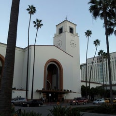 Photo taken at Metro Gold Line - Union Station by Mrs. H. on 10/28/2012