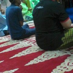 Photo taken at Masjid Taiping by Alif N. on 5/20/2013