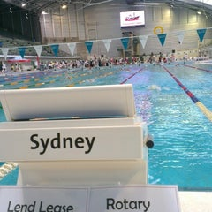 Photo taken at Sydney Olympic Park Aquatic Centre by Lucy R. on 5/2/2015