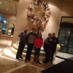 Photo taken at The Davenport Hotel Tower by Bart R. on 1/1/2015