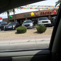 Photo taken at Cactus Jacks Auto by Tarnita O. on 5/26/2013