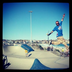 Photo taken at Bondi Skatepark by Jason B. on 10/13/2012