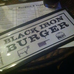 Photo taken at Black Iron Burger by Beto L. on 3/26/2013
