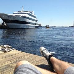 Photo taken at Odyssey Cruises by Simon B. on 6/20/2013