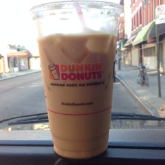 Photo taken at Dunkin' Donuts by Röb on 7/9/2014