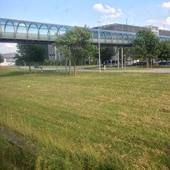 Photo taken at S Flughafen Besucherpark by Deigote y. on 6/21/2013