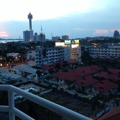 Photo taken at Jomtien View Talay  Condominiums Pattaya by Dmitry B. on 4/28/2014