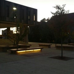 Photo taken at Wescoe Beach by Andy A. on 10/31/2015