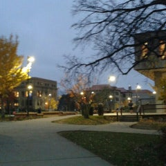 Photo taken at Wescoe Beach by Andy A. on 11/16/2015
