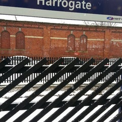 Photo taken at Harrogate Railway Station (HGT) by Spencer H. on 3/27/2013