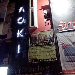 Photo taken at AOKI Reflexology by Lydia S. on 9/17/2013