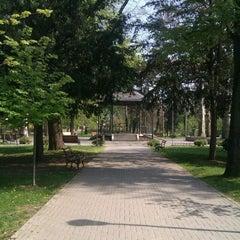 Photo taken at Narodna bašta by Vanja J. on 4/22/2013