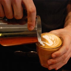 Photo taken at Pourquoi Pas Espresso Bar by zurbaines.com on 10/11/2013