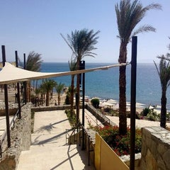 Photo taken at Le Méridien Dahab Resort by Remco P. on 2/25/2013