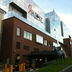 Photo taken at Яндекс / Yandex HQ by Evgeny E. on 7/1/2013