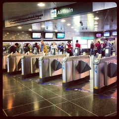 Photo taken at JFK AirTrain - Jamaica Station by Dirk D. on 4/8/2013