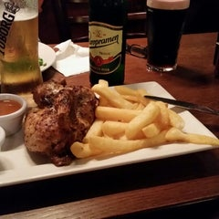 Photo taken at The Walnut Tree (Wetherspoon) by Darius R. on 7/19/2014
