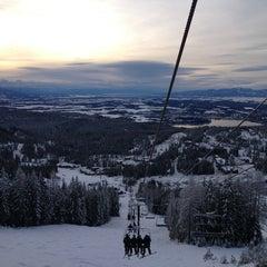 Photo taken at Whitefish Mountain Resort by Dan H. on 1/8/2013