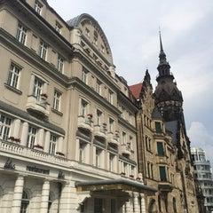 Photo taken at Hotel Fürstenhof by Christian K. on 7/26/2014