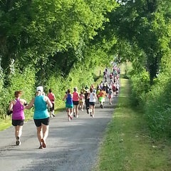 Photo taken at RC Cola Moonpie 10 miler by Jeremy F. on 6/15/2013