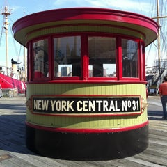 Photo taken at South Street Seaport by Francois S. on 5/16/2013