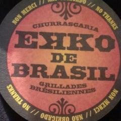 Photo taken at Ekko De Brazil by Sarah M. on 8/21/2013