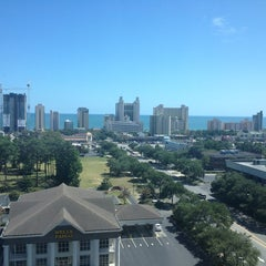 Photo taken at Sheraton Convention Center Hotel by Darina D. on 8/31/2014