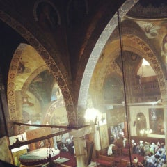 Photo taken at St. Mark's Church | كنيسة مارمرقس by Mina F. on 7/24/2013