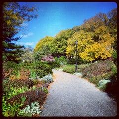 Photo taken at Heather Garden by brendan w. on 10/21/2012