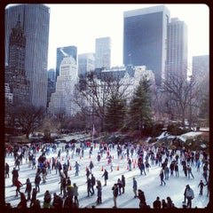 Photo taken at Wollman Ice Skating Rink by brendan w. on 12/31/2012