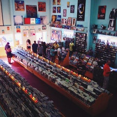 Photo taken at Good Records by Matt B. on 5/10/2014