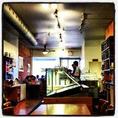 Photo taken at Manic Coffee by Jenna J. on 3/21/2013