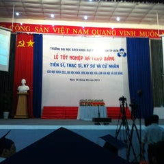 Photo taken at Hội Trường A5 Bách Khoa Tp.HCM by Phan N. on 4/26/2013