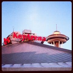 Photo taken at KeyArena at Seattle Center by Sofia M. on 7/22/2013