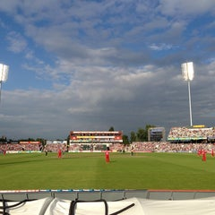 Photo taken at Emirates Old Trafford by Kenneth L. on 7/24/2013