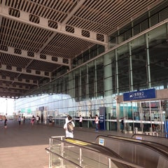 Photo taken at 苏州园区站 Suzhou Industrial Park Railway Station by XingXing Z. on 6/30/2013