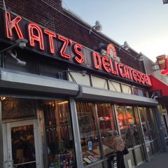 Photo taken at Katz's Delicatessen by Chris S. on 5/1/2013