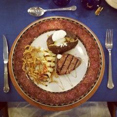 Photo taken at Nautilus Steak House by Kahe M. on 10/12/2013