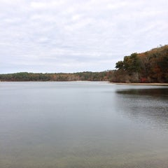 Photo taken at Cliff Pond by Michael I. on 11/11/2012