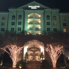 Photo taken at The Ballantyne Hotel & Lodge, Charlotte by Ken M. on 1/6/2013